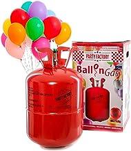 Party Factory Ladenburg Helium Flasche für 50 Luftballons Ballons inkl. 50 Ballons