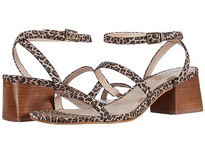 ABLE Scilia Block Heel (Leopard Suede) Women