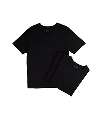 BOSS Hugo Boss T-Shirt Round Neck 3-Pack US CO 10145963 01 (Black) Men