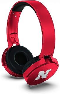 NCAA Nebraska Cornhuskers Wireless Bluetooth Headphones, Team Color