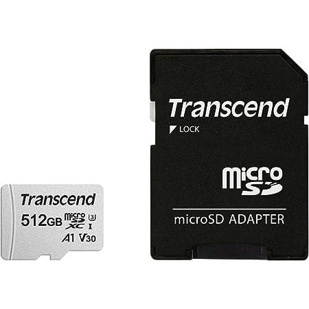 Transcend microSDカード 512GB UHS-I U3 V30 A1 Class10 Nintendo Switch 動作確認済 5年保証 TS512GUSD300S-AE 【Amazon.co.jp限定】