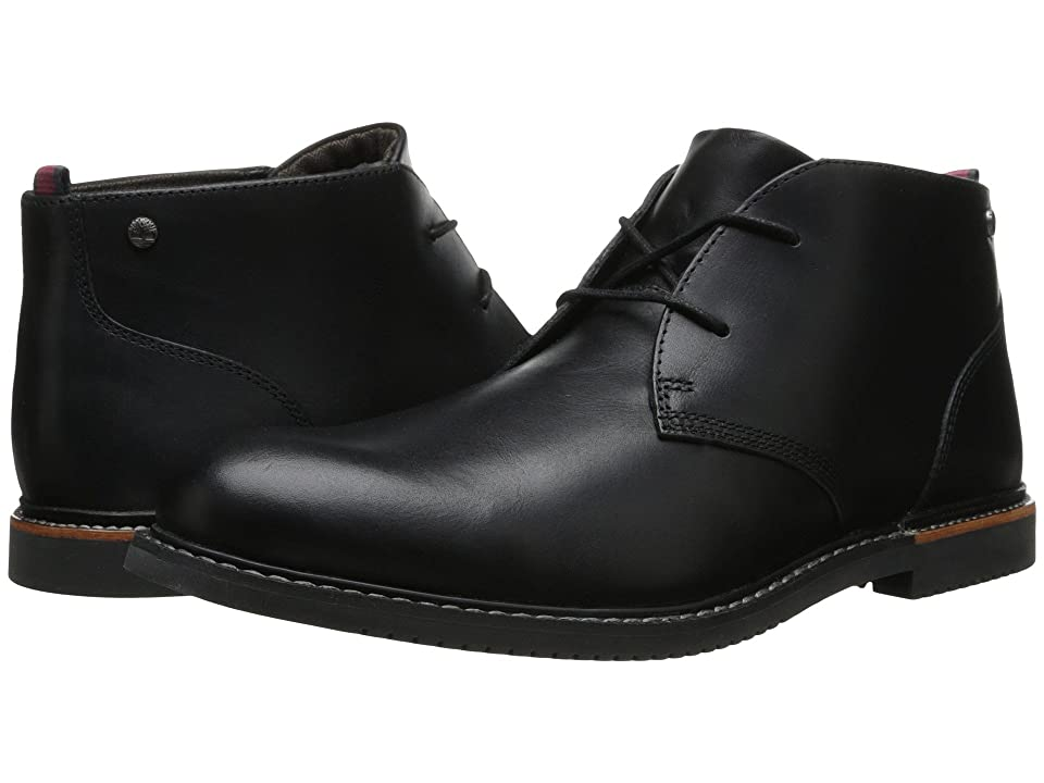 Timberland Earthkeepers(r) Brook Park Chukka (Black Smooth) Men