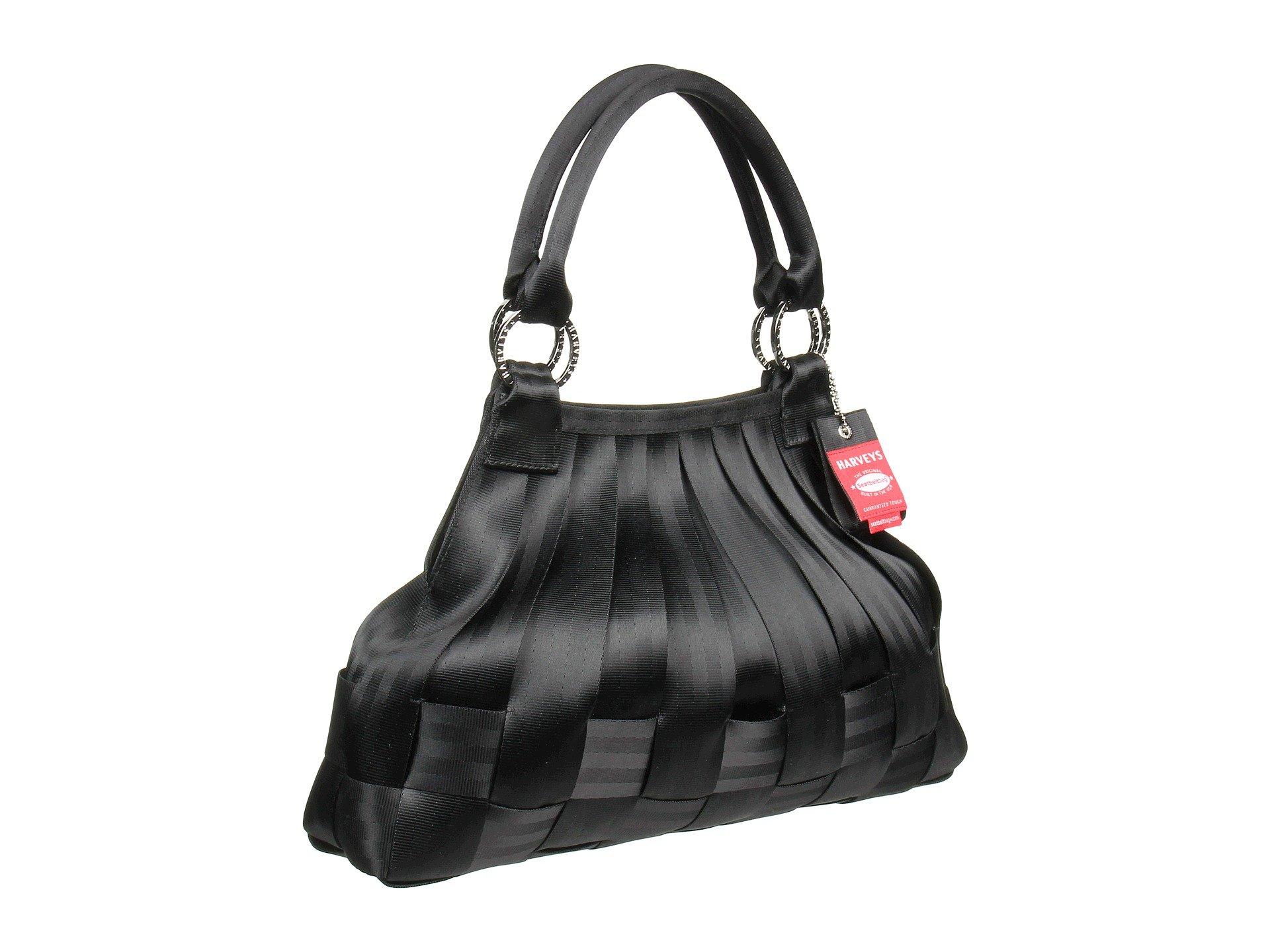 Large Stella Bag Black Hobo Seatbelt Harveys q7ftxT7w