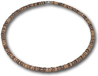 wooden bead choker