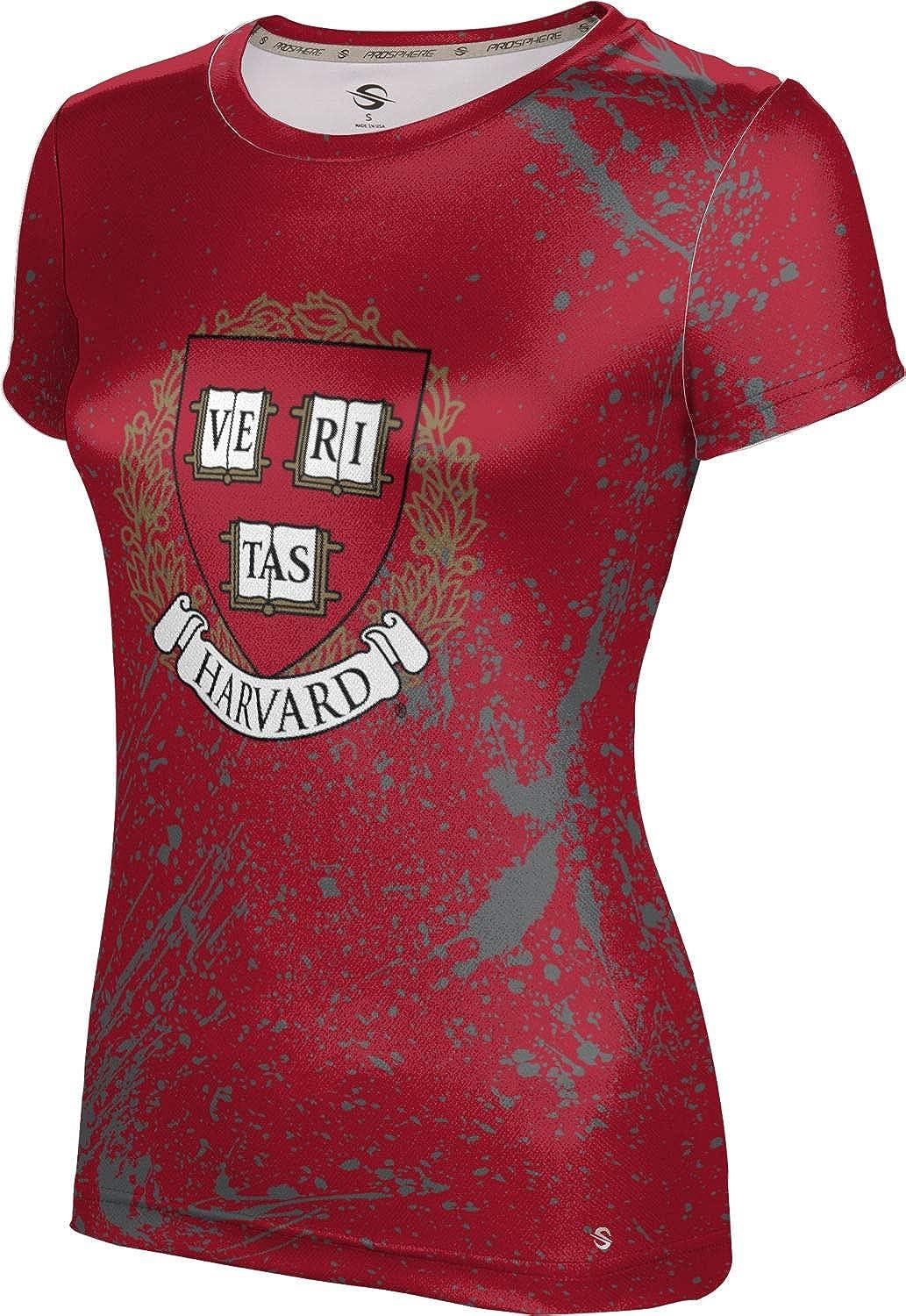 ProSphere Harvard University Girls' Performance T-Shirt (Splatter)