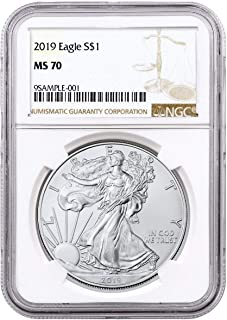 2019 Silver Eagle $1 MS-70 NGC