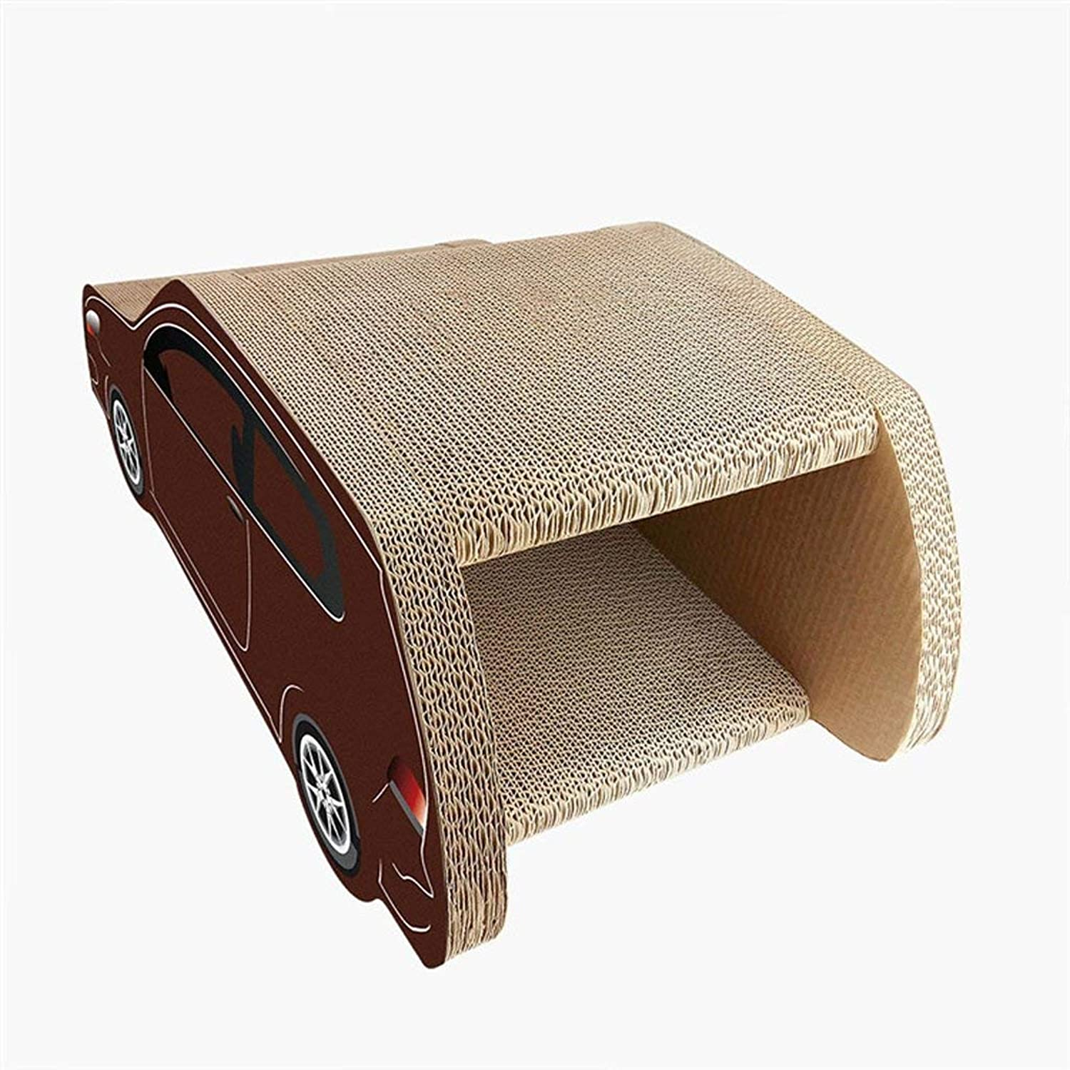 Car cat Scratch Board, Cat House Cat Scratch Board Corrugated Paper Does Not Hurt The Hand Luxury Cat House Carton House