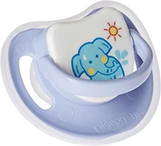Pigeon 1 Slilicone Pacifier Step 2, Elephant