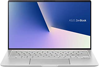 "ASUS ZenBook 14 UM433DA-DH75 Home and Business Laptop (AMD Ryzen 7 3700U 4-Core, 8GB RAM, 512GB SSD, 14.0"" Full HD (1920x1..."