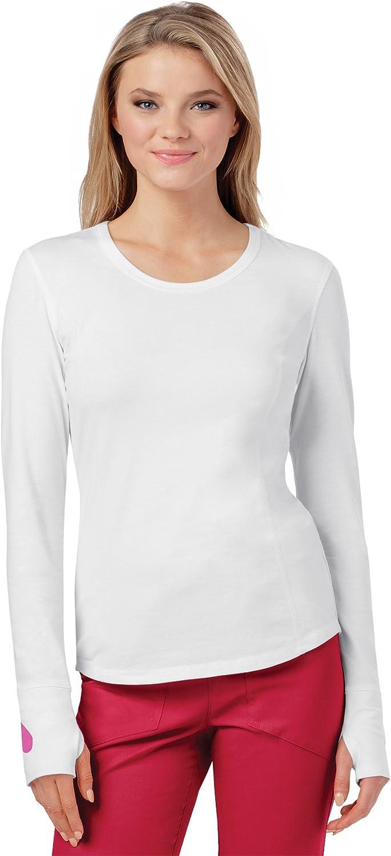 Heartsoul Women's Long Sleeve Knit Solid TShirt