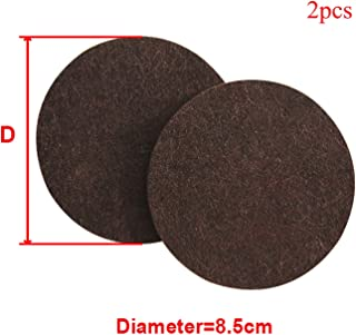 OUOK 8/16/24pcs/lot Chair Leg Pads Floor Protectors for Furniture Legs Table Leg Covers Round Bottom Anti Slip Pads Rubber Feet,2Pcs 8.5cm Round