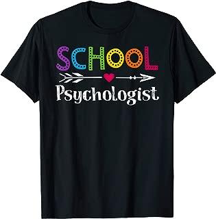 Best school psychologist shirt Reviews
