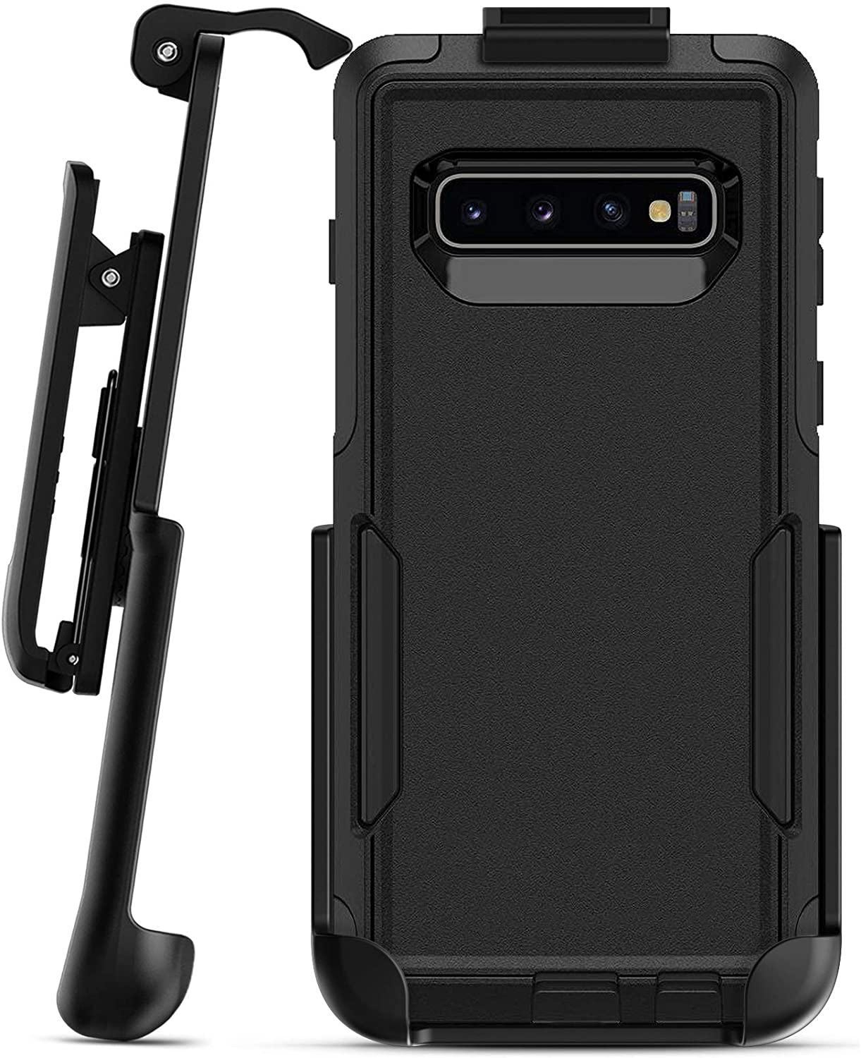 Encased Belt Clip Holster - Compatible with Otterbox Commuter Case - Samsung Galaxy S10 (case is Not Included)