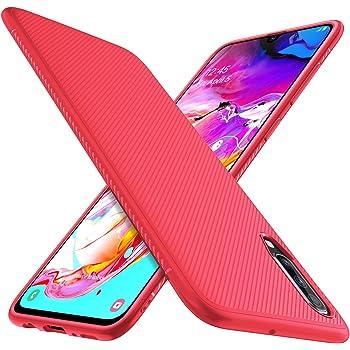 iBetter para Samsung Galaxy A70 Funda, Fina de Silicona Funda ...