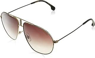 Men's Bounds BOUNDS Aviator Sunglasses, BLACK GOLD/BROWN GRADIENT, 62 mm