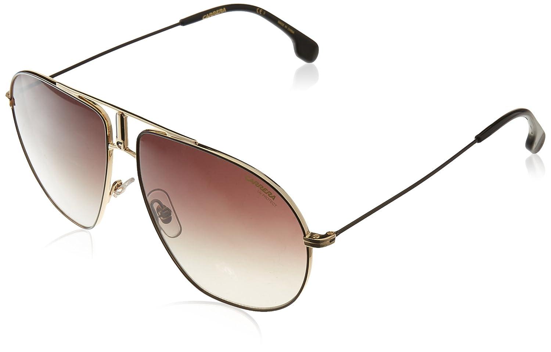 Black CARRERA Sunglasses BOUND 01QQT Gold RRP-£159