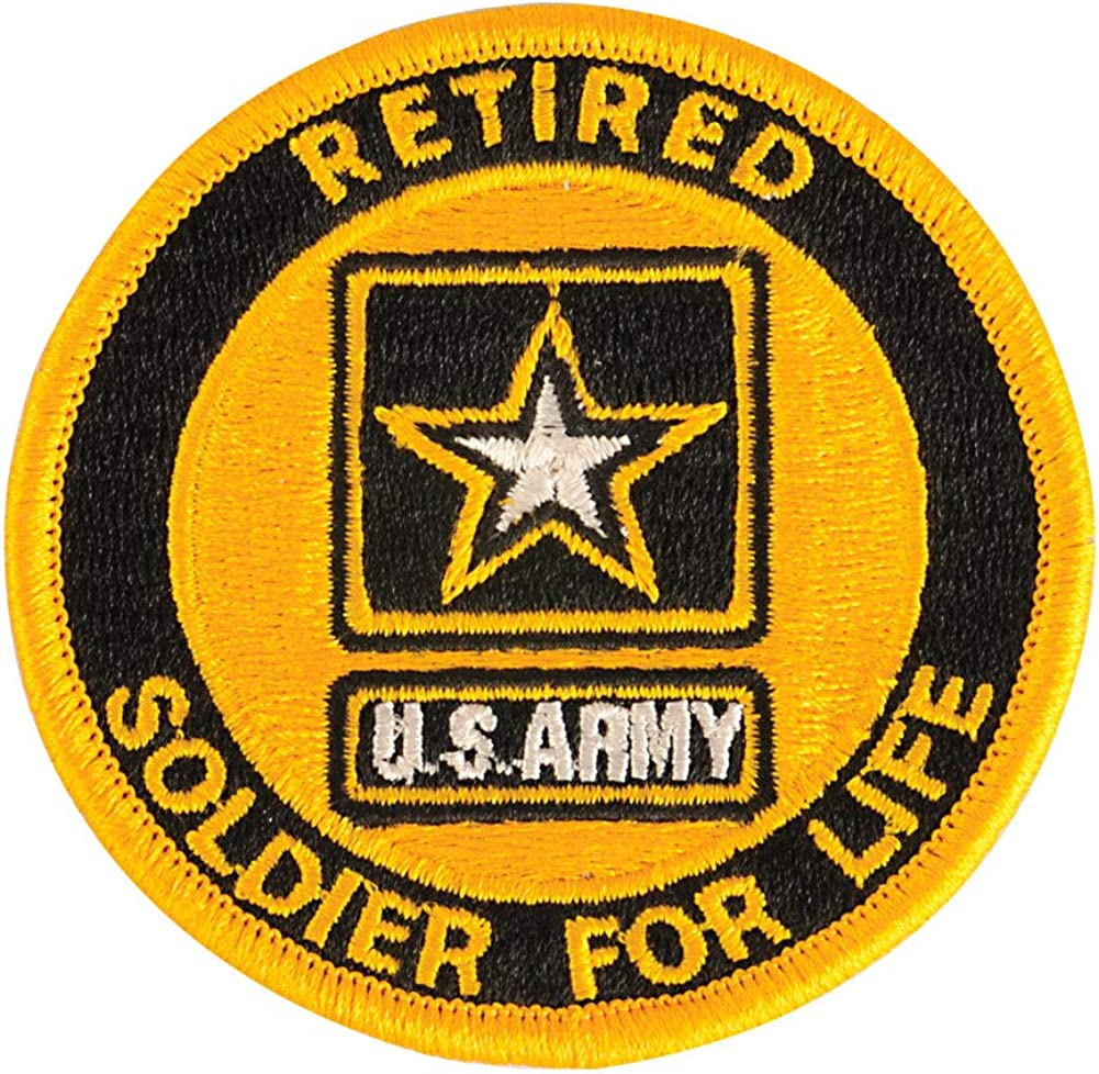 US Army Translated Soldier For cheap Patch Retired Life