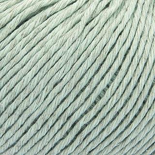 ggh Linova, Farbe:070 - Blasses Lindgrün, Baumwolle, Leinen Mischung, 50g Wolle als Knäuel, Lauflänge ca.100 m, Verbrauch 550g, Nadelstärke 3,5-4,5, Wolle zum Stricken und Häkeln