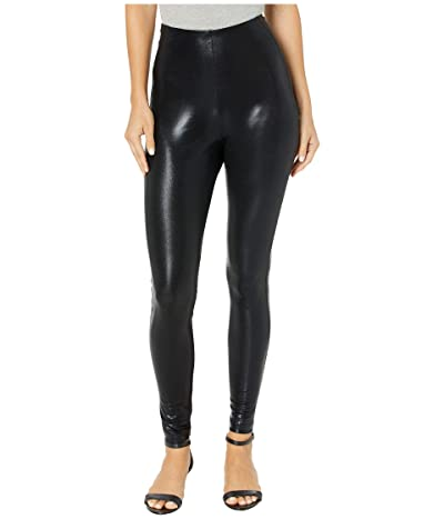 Lysse Foil Super High-Waisted Leggings (Black) Women