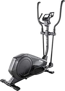 Kettler Rivo 4 Elliptical Cross Trainer Exercise Bike with Advanced Training Computer and Adjustable Footplates