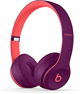 Beats Solo3 Trådlös Bluetooth On-Ear Hörlurar - Apple W1 Chip, klass 1 Bluetooth 40 timmars uppspelning - Pop Magenta