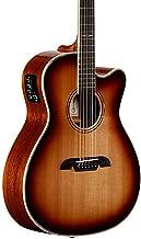 Alvarez AFH600CESHB OM/Folk Cutaway Acoustic-Electric Guitar Shadow Burst