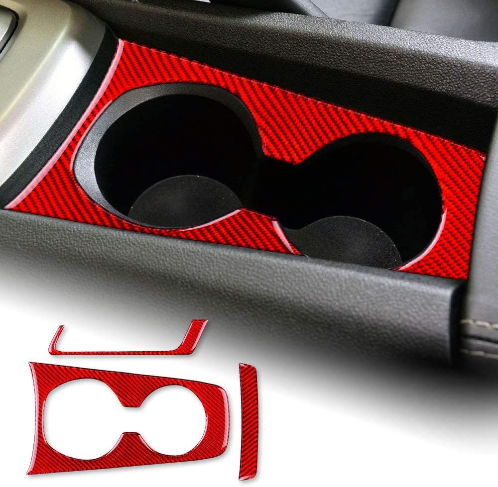 AIRSPEED Carbon Fiber Car Cup OFFicial shop Holder Cover Frame Interior C latest Trim