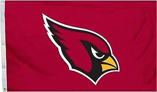 NFL Arizona Cardinals Flag with Grommets, 3 x 5-Feet