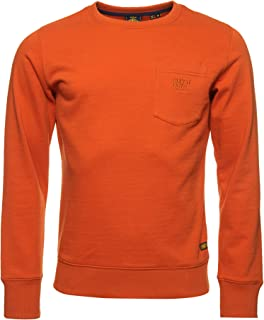 Superdry Denim Goods Co Man Sweatshirt Denim Co Rust