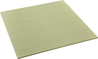 大島屋(Ooshimaya) 畳 ナチュラル 約82×82×2.3cm イ草 ユニット畳 グルーヴ ナチュラル 82×82×2.3
