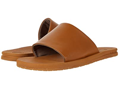 Volcom E-Cliner Slide (Cognac) Women