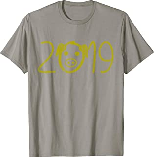 Yarn Crochet Applique Heartbeat Gift T-Shirt