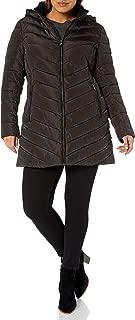 Women's Plus Size Long Puffer Coat