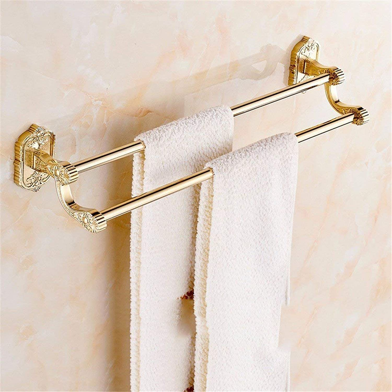 The zinc Alloy, gold Carved Christmas, Basis of Bathroom Fittings, Toilet Paper, soap,Double Pole