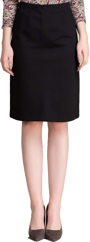 CLC Women's Mulberry Silk Split Skirt Warm High Waist Skirt