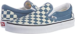 (Checkerboard) Blue Mirage/True White