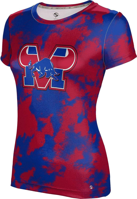 ProSphere Mountain View High School Girls' Performance T-Shirt (Grunge)