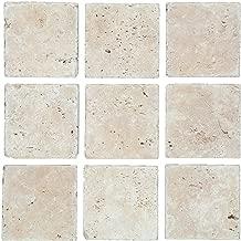 Mosaik Fliese Travertin Naturstein beige Chiaro Antique Travertin MOS43-46048