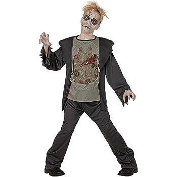 WIDMANN - Disfraz de zombi para niños: Amazon.es: Juguetes y juegos