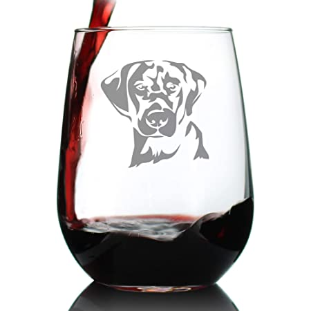 Beagle Stemless Wine Glasses Set Of 2 Unique For Dog Lovers Hand Etched With Breed Name On Bottom Wine Glasses