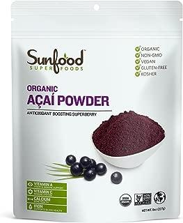 Sunfood Acai Powder, 8 Ounces, Organic