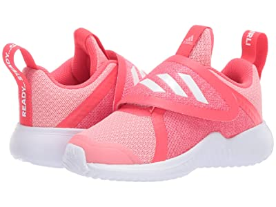 adidas Kids FortaRun X CF (Toddler) (Glory Pink/White/Shock Red) Girls Shoes