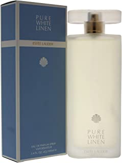 Pure White Linen By Estee Lauder For Women. Eau De Parfum Spray 3.4 OZ