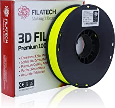 Filatech HIPS Filament, Lumin. Dark Yellow, 1.75mm, 0.5 kg, Made in UAE