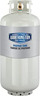 Worthington 302018 40-Pound Steel Propane Cylinder With Type 1 With Overflow Prevention Device Valve (Older Model)