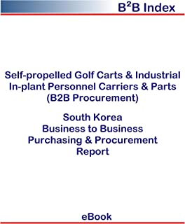 Self-propelled Golf Carts & Industrial In-plant Personnel Carriers & Parts (B2B Procurement) in South Korea: B2B Purchasing + Procurement Values