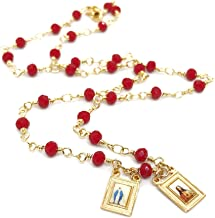 Scapular Gold Plated Necklace for Women