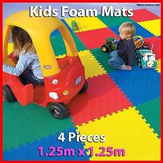 Kids Foam Play Mats Floor Baby EVA Mat Interlocking Tile Playmat Puzzle Children
