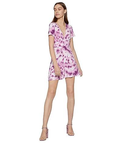 BCBGeneration Day Short Sleeve Knit Dress TUN6271513 (Lavender Herb) Women