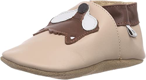 Yalion Baby Soft Sole Leather Shoes Infant Toddler Moccasin Prewalker Crib Shoes Zap Pow 3 Colors